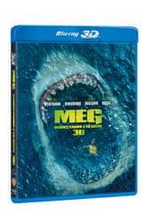 Meg: Monstrum z hlubin 3D+2D (2 disky) - Blu-ray