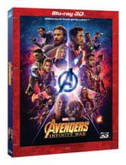 Avengers: Infinity War 3D+2D (2 disky) - Blu-ray