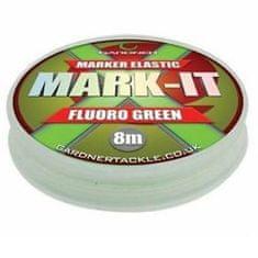 Gardner Guma Marker Elastic Fluoro Green 8 m