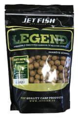 Jet Fish Boilie Legend Range Žltý Impuls Orech Javor