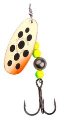Savage Gear Blyskáč Caviar Spinner Firetiger