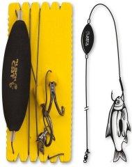 Black Cat Sumcový Náväzec U Float Ghost Rig 100 kg 180 cm