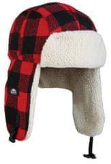Eiger Eiger Čiapka Fleece Korean Hat Red Black