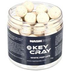 Nash Plávajúce Boilies Key Cray Pop Ups White