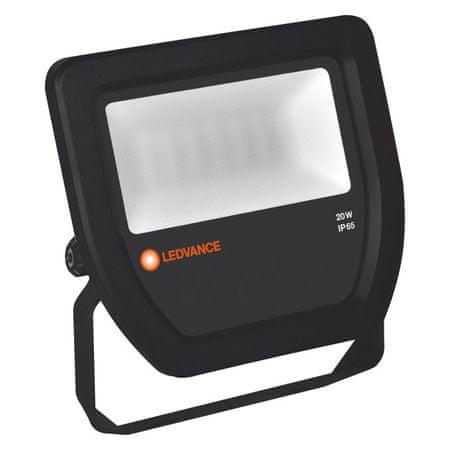LEDVANCE reflektor LED Floodlight 20W/4000K 100DEG IP65, črn