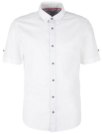 s.Oliver pánská košile M bílá