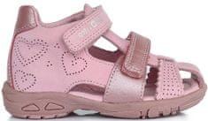 D-D-step dekliški sandali s srčki