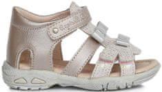 D-D-step dívčí sandály s mašličkama