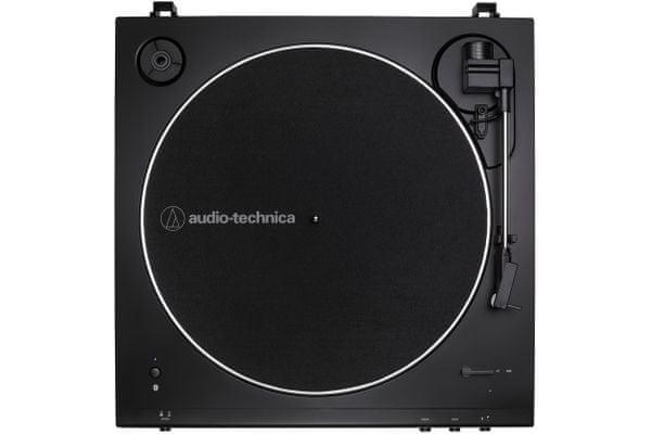 stylowy gramofon audio-technica at-lp60xBT 2 prędkości dual moving magnet końcówka diamentowa atn3600l płyta aluminiowa przedwzmacniacza gramofonowego
