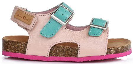 D-D-step dekliški sandali, 25, roza