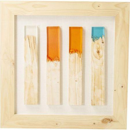 KARE Dekorativní rámeček Match 90x90 cm - barevný