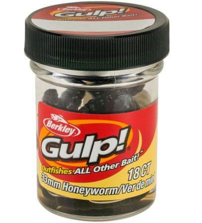Berkley Umelé Nástrahy Gulp Honey Worm 4,5 cm, Oranžová