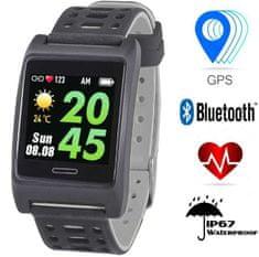 Trevi športna ura T-FIT 280, Bluetooth, črno/siva