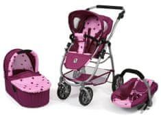 Bayer Chic voziček za lutke EMOTION ALL IN 3 V 1