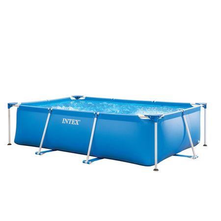 Intex bazen Metal Frame, 300 x 200 x 75 cm, brez filtracije (28272NP)
