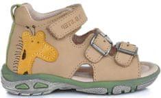 D-D-step chlapčenské sandále so žirafou