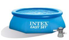 Intex basen rozporowy z filtracją kartuszową Easy Set 244 × 76 cm, (28112NP)