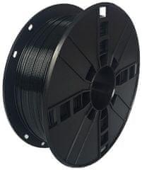 Gembird tisková struna (filament), PLA+, 1,75mm, 1kg, černá (3DP-PLA+1.75-02-BK)