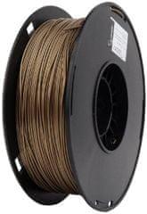 Gembird tisková struna (filament), PLA+, 1,75mm, 1kg, zlatá (3DP-PLA+1.75-02-GL)