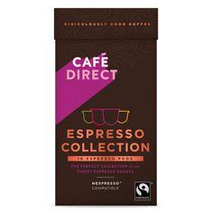 Cafédirect Selekce Espresso kávových kapslí pro Nespresso 10ks