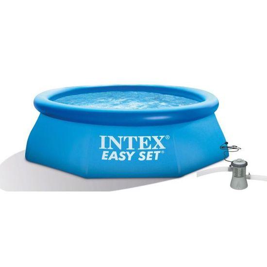 Intex Easy Set 366 × 76 cm, kartušová filtrace (28132NP) - rozbaleno