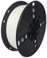 Gembird tisková struna (filament), PETG, 1,75mm, 1kg, bílá (3DP-PETG1.75-01-W)