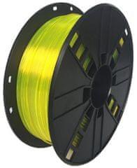 Gembird tisková struna (filament), PETG, 1,75mm, 1kg, žlutá (3DP-PETG1.75-01-Y)