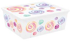 Kis C Box Style M, Portobello, 18l - rozmer 40x34x17 cm