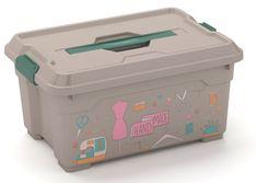 Kis Moover Box XS 12 L ŠITIE, organizér - rozmer 38x26,5x18,5cm