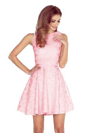 Numoco Női ruha 125-18, púder rózsaszín, XL