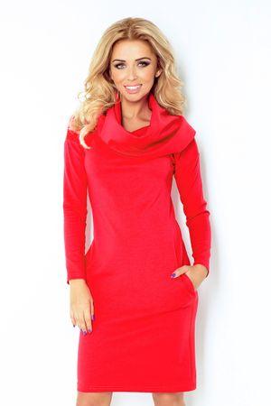 Numoco Női ruha 131-4, piros, XL
