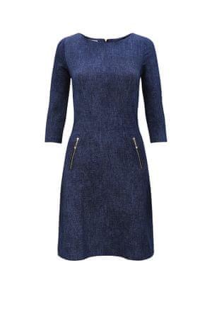 Numoco Sukienka damska 38-5, ciemnoniebieskie dżinsy, XL