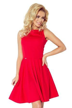 Numoco Dámské šaty 98-2, červená, XL