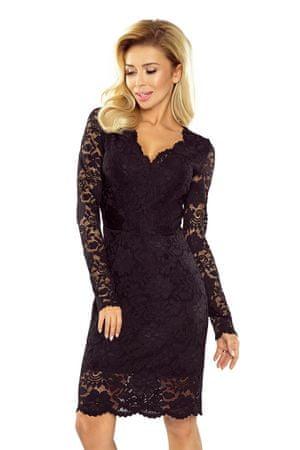 Numoco Dámske šaty 170-1, čierna, XL