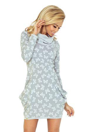 Numoco Sukienka damska 135-2, biały, XXL