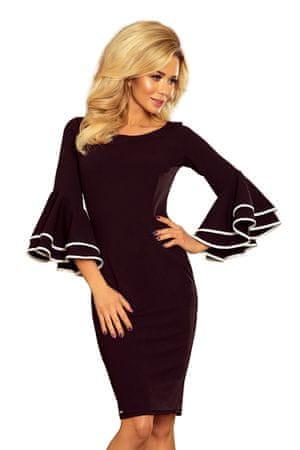 Numoco Női ruha 188-2, fekete, XXL