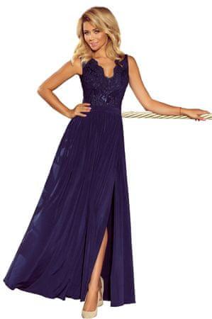 Numoco Női ruha 215-2, sötét kék, M