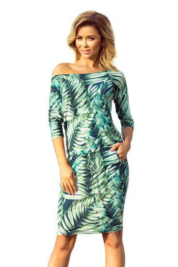 Numoco Dámske šaty 13-92, viacfarebná, XXL