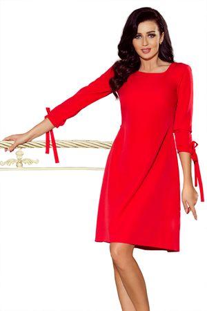 Numoco Női ruha 195-4 + Nőin zokni Gatta Calzino Strech, piros, XL