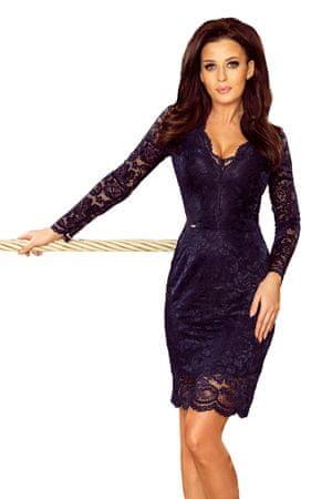 Numoco Női ruha 170-7, sötét kék, XXL