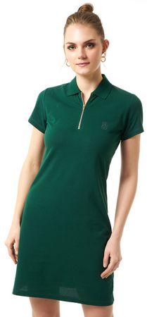 Jimmy Sanders dámské šaty XXL tmavě zelená