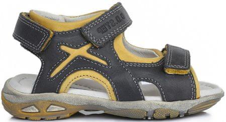 D-D-step sandały chłopięce 35 szare