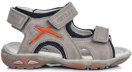 D-D-step sandale za dječake, sive, 25