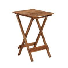 Butlers Mini stůl skládací - přírodní
