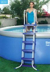 Bestway varnostna lestev za bazen,132 cm