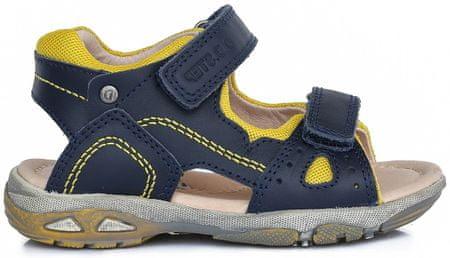 D-D-step chlapčenské sandále 25 modrá
