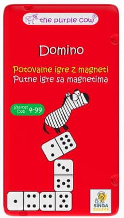 Purple Cow potovalna igra Domino