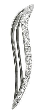 Silver Cat Srebrn obesek s kristali SC038 srebro 925/1000