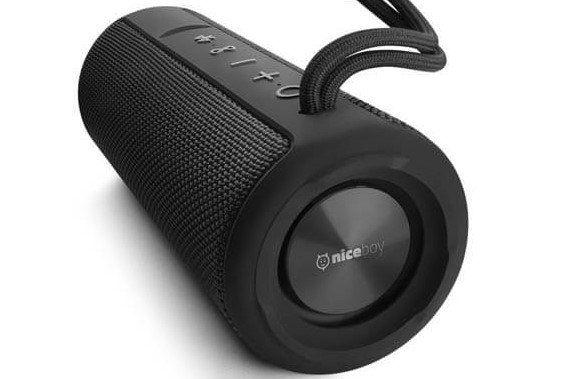 Bezprzewodowy głośnik Niceboy RAZE 2 vertigo wbudowany mikrofon sterowanie na głośniku duża wydajność baterii