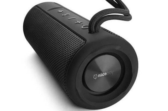 bezdrátová bezdrátový reproduktor Niceboy RAZE 2 vertigo vestavěný mikrofon ovládání na reproduktoru velká výdrž nabíjecí baterie